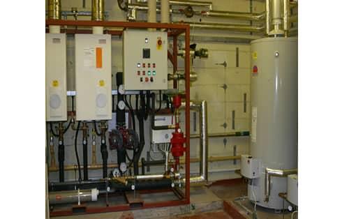 Water heaters in situ